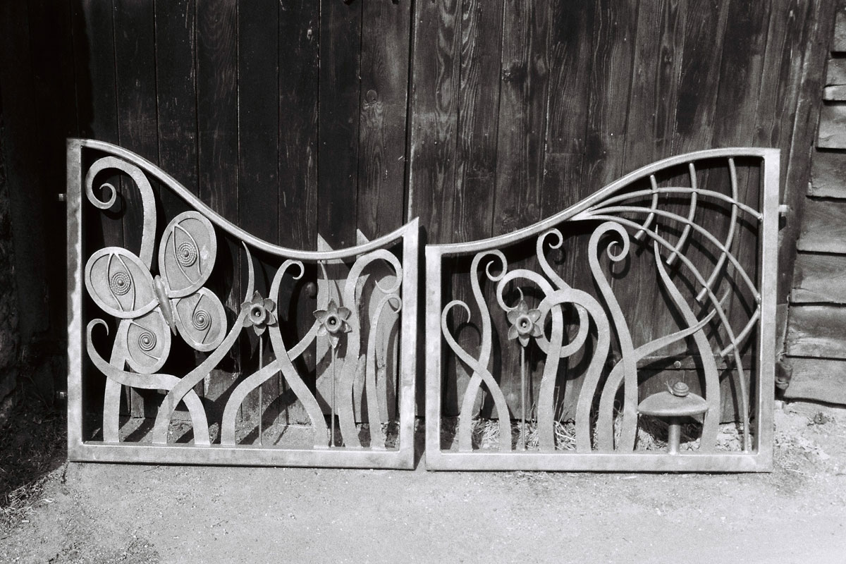 Butterfly and spider web gates paired